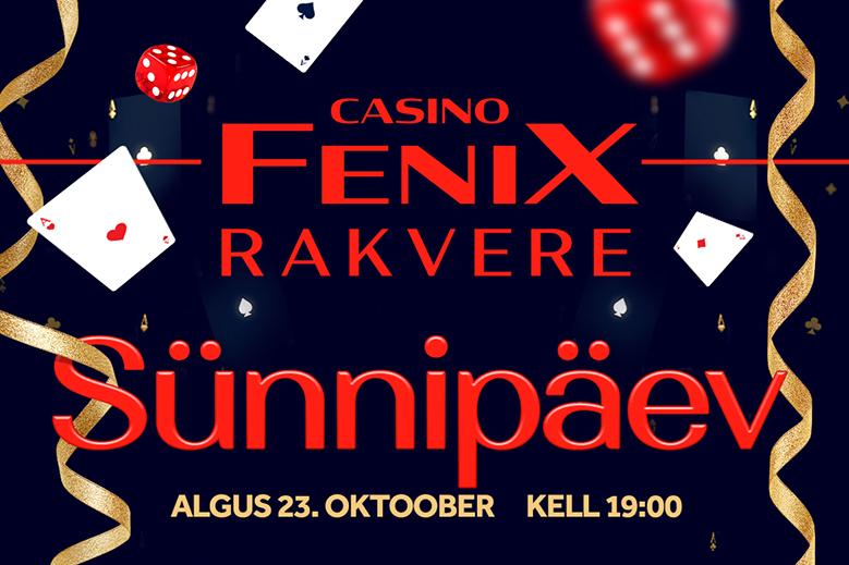 Fenix Rakvere sünnipäev