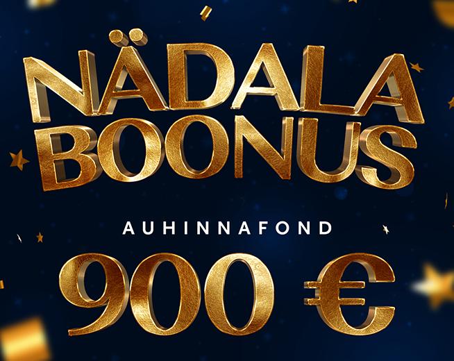Tartu Fenix Casino Nädala boonus