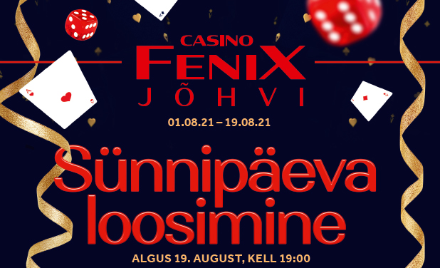 Jõhvi Fenix Casino sünnipäev