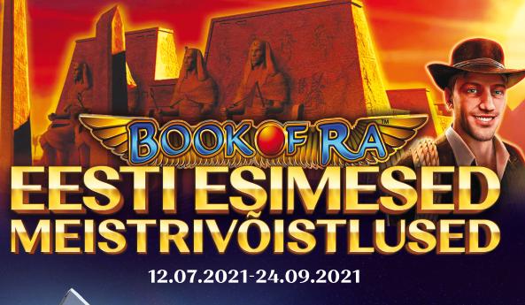 Book of Ra Eesti esimesed meistrivõistlused