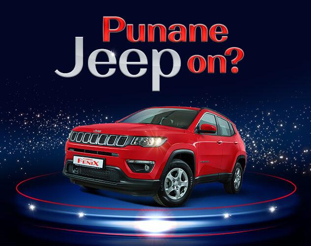 Punane Jeep on?