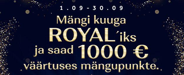 Kuuga Royaliks!